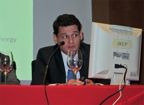 Ignacio Calvo, como representante de Acciona