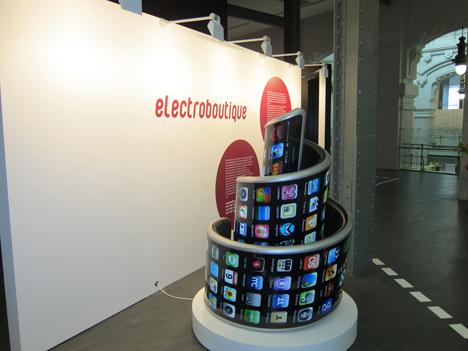 """Propuesta expositiva """"Electroboutique, en la """"Feria Internacional Ciudad Creativa"""" de CentroCentro Cibeles"""