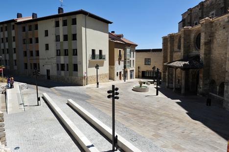 Centro accesible de la ciudad.