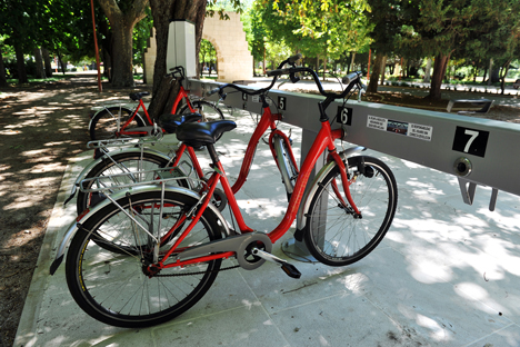 Sistema de Préstamo de bicicletas.