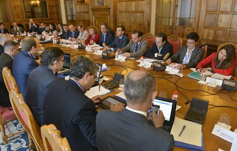 Reunión del V Comité Técnico de RECI en Santander.
