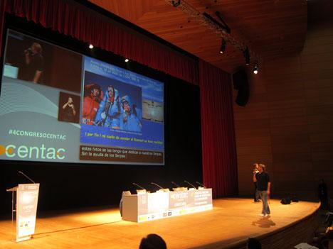 Ponencia Inaugural del IV Congreso de Tecnologías de la Accesibilidad