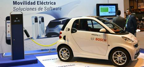 Presencia de Bosch eMobility en el Salón de Gestión de Flotas de Madrid, IFEMA.