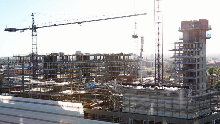 C40 Edificios en construcción