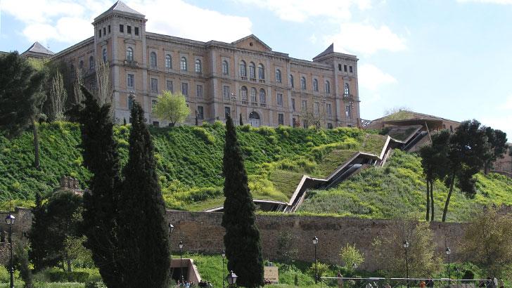 ThyssenKrupp escalera en Toledo