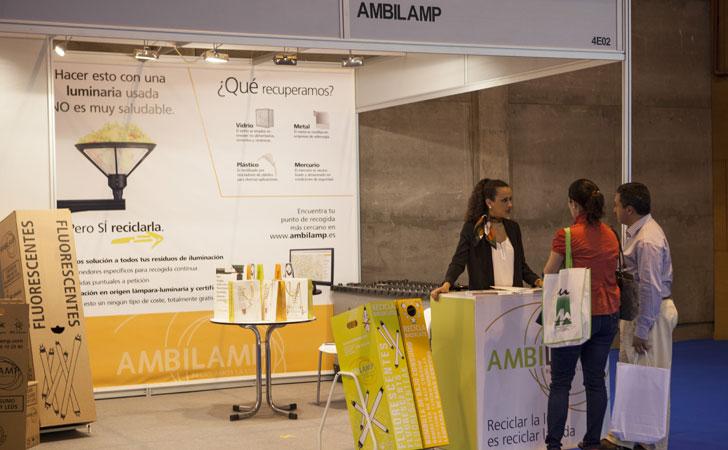 Ambilamp stand en Feria TECMA