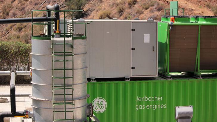 Planta de cogeneración a partir de residuos