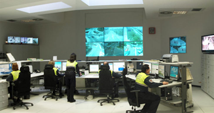 Centro de control de tráfico de Pamplona