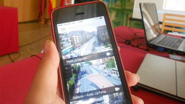 App para transportes en Murcia