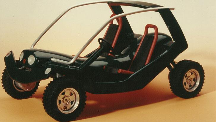 Prototipo del vehículo eléctrico