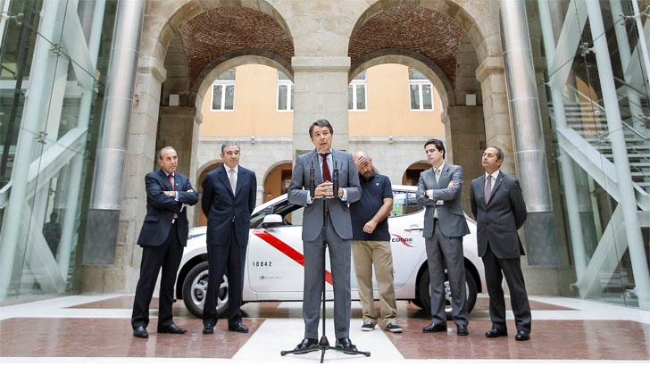 Primer taxi 100% eléctrico de la Comunidad de Madrid.