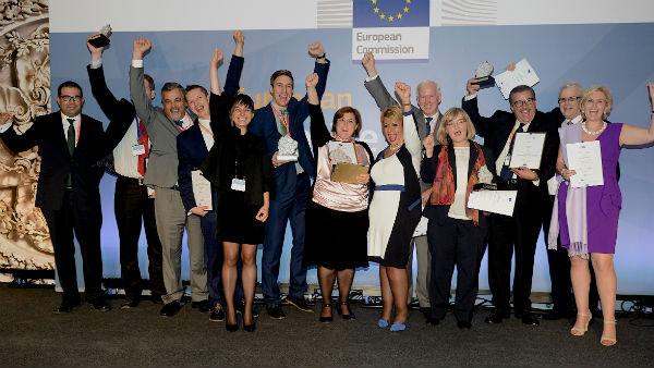 Ganadores de los Premios Europeos de la Empresa