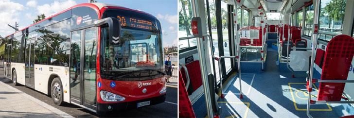 Autobuses 100% eléctricos
