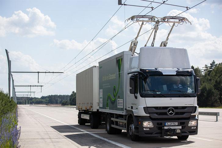 Solución para camiones eléctricos de Siemens