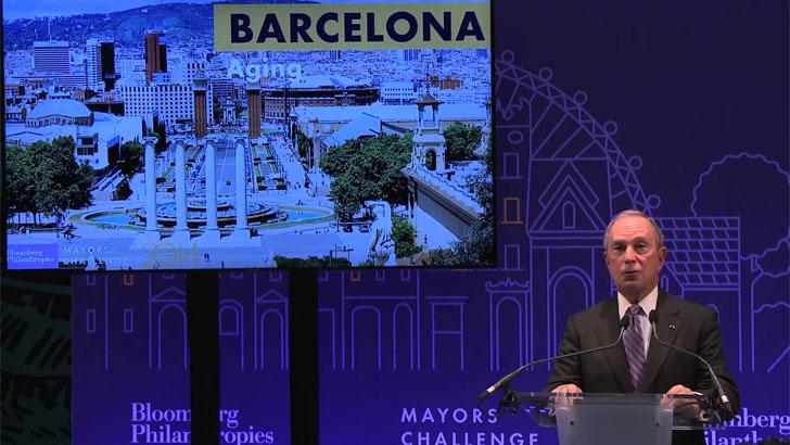 Barcelona en Mayors Challenge
