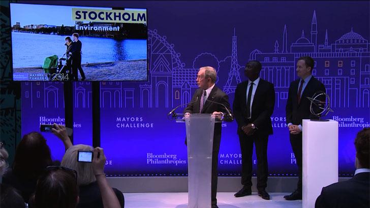 Estocolmo finalista de Mayors Challenge 2014