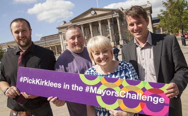 Kirklees finalista de Mayors Challenge 2014