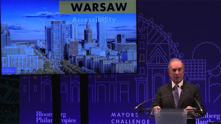 Varsovia, finalista de Mayors Challenge 2014