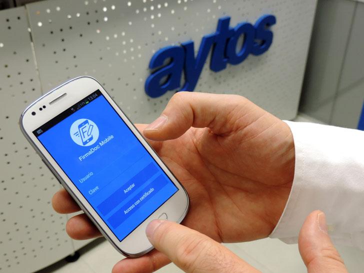 Solución de firma móvil de Aytos