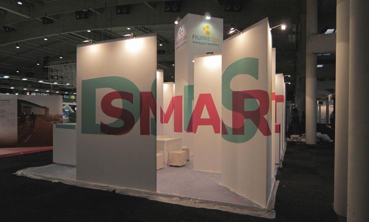 Stand de FIWARE para la Smart City Expo World Congress 2014
