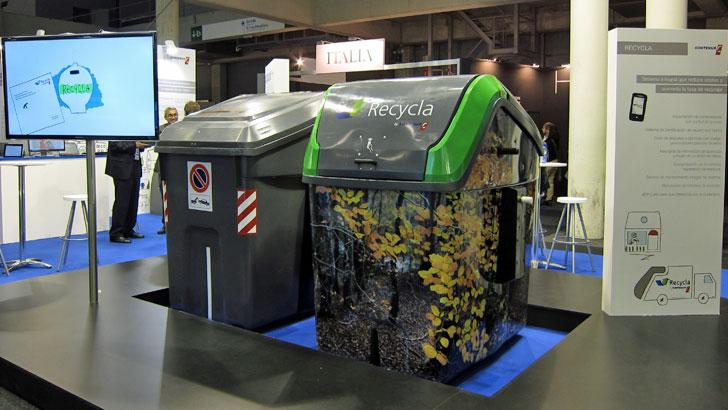 Contenedores de Contenur en Smart City Expo World Congress