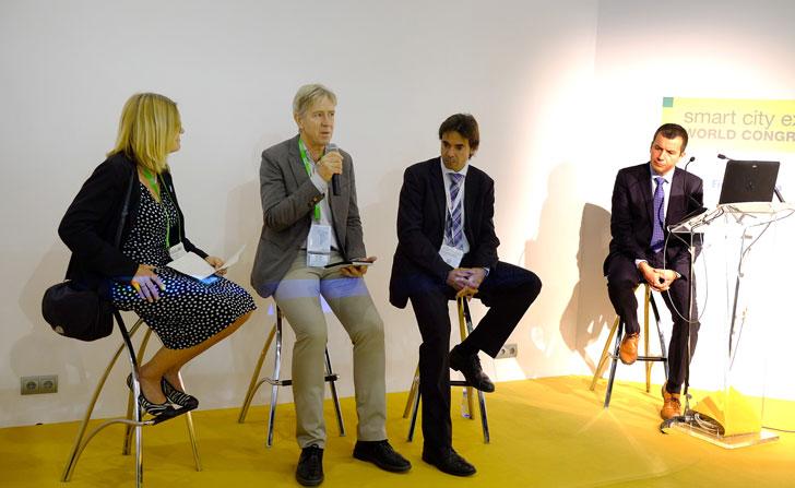Mesa de Alcaldes organizada por Philips en la Smart City Expo World Congress