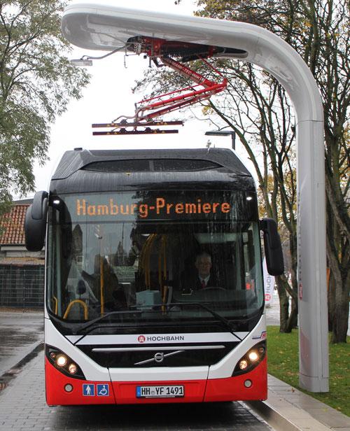 Autobús eléctrico de Volvo y Siemens