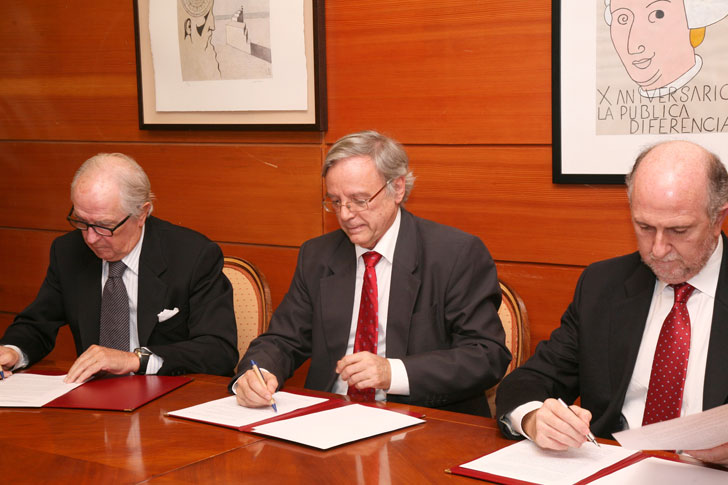 Firma Indra, Adecco, UC3M para proyecto Light-Access