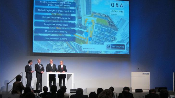 Presentación de Essen de Multi, ThyssenKrupp