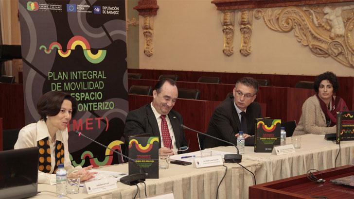Diputación de Badajoz presenta sus planes de eficiencia energética con el Alentejo