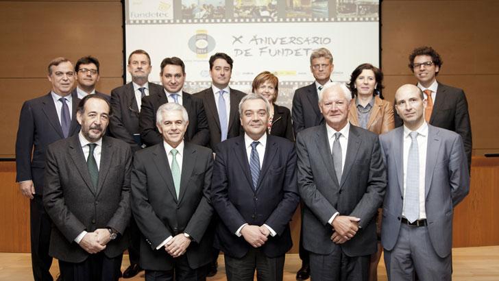 Fundetec y cinco últimos secretarios de estado de la SETSI