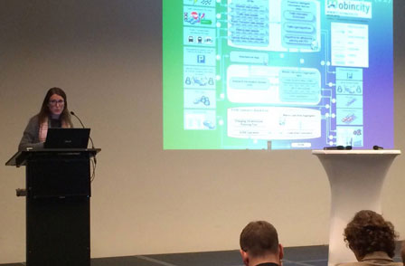 Presentación de Mobincity en Bruselas