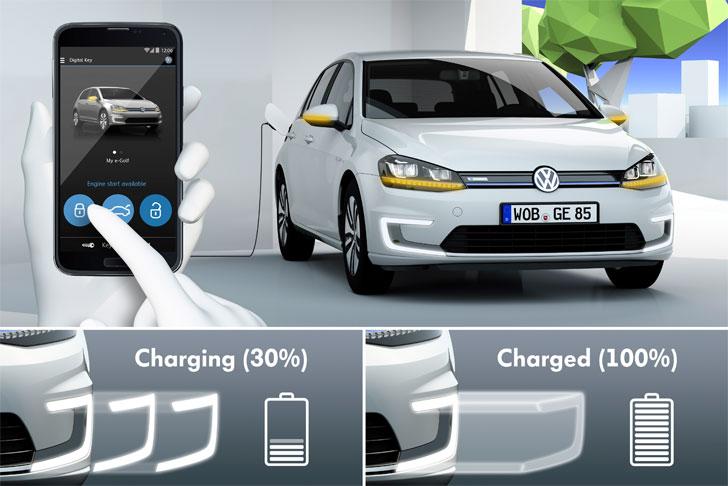 Sistema de recarga inalámbrica de Volkswagen