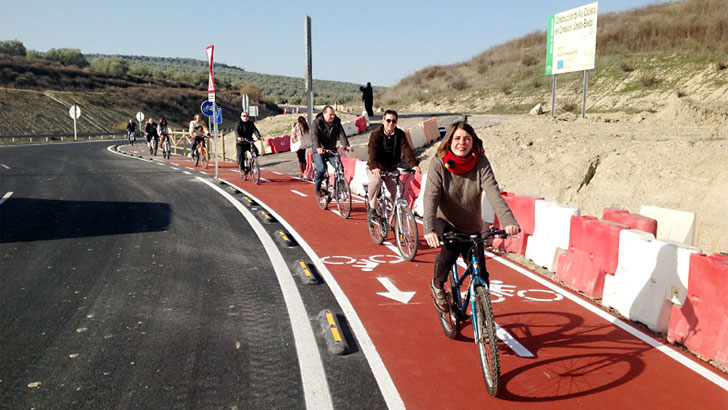 Vía ciclista Úbeda-Baeza
