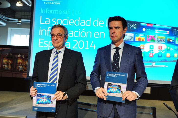 Presentación del Informe la Sociedad de la Información 2014, Fundación Telefónica.