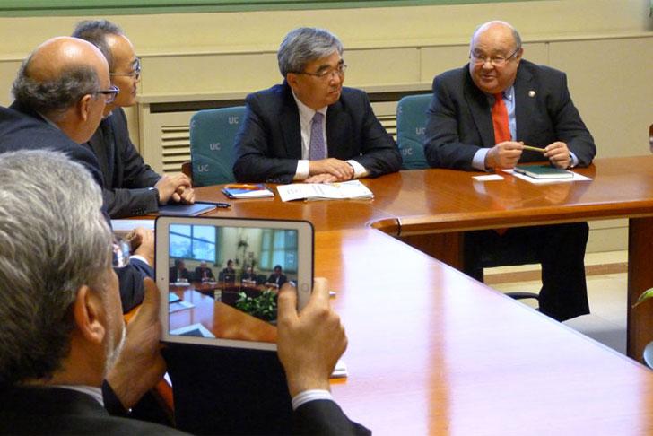 Reunión NEC y Universidad de Cantabria