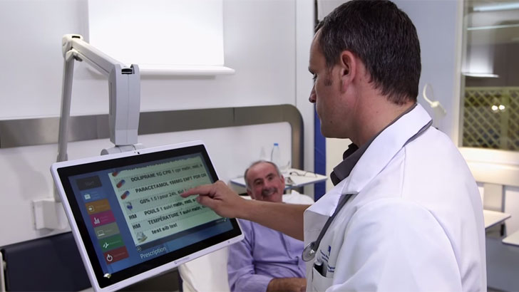 Dispositivo CnC  Bedside