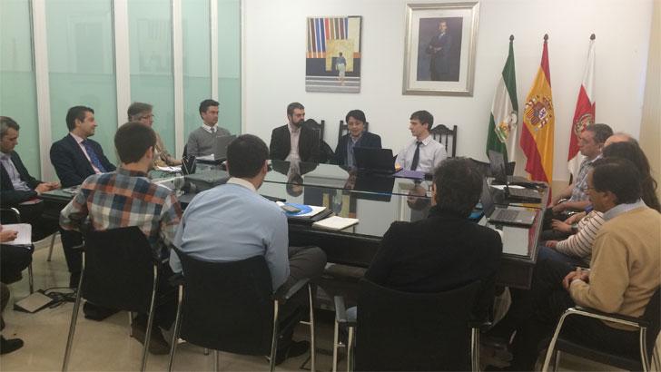 Reunión proyecto UrbanWater en Almería