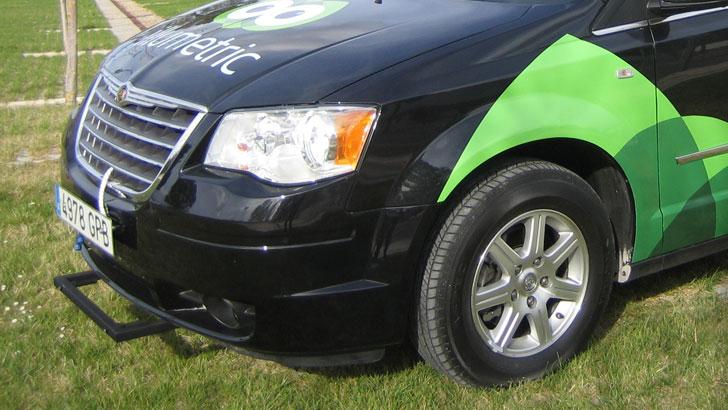 Sensor en parte delantera del coche Illumetric