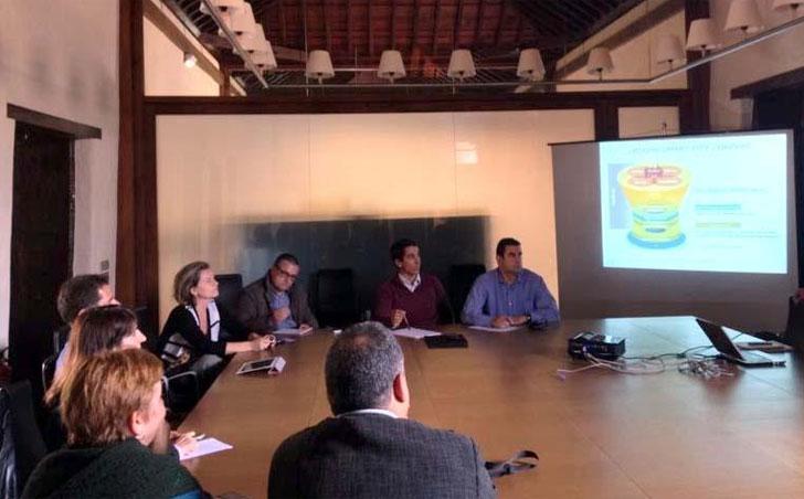 Reunión de trabajo acerca de la estrategia de La Laguna como Smart City