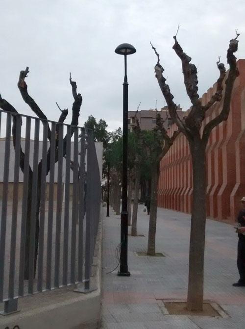 Luminarias Murcia
