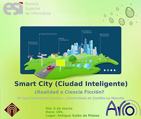 """Cartel de la Jornada """"Ciudad Inteligente"""""""