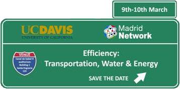 """Workshop en """"Eficiencia: Transporte, agua y energía""""."""