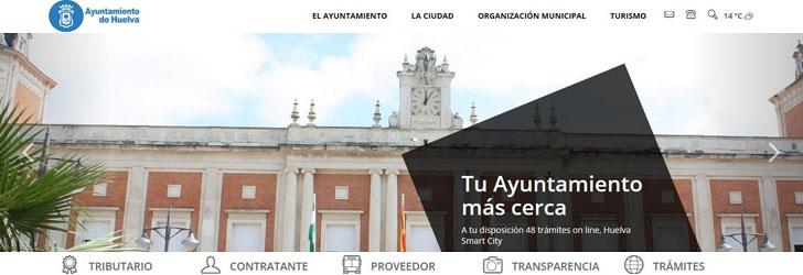 Portal del Ayuntamiento de Huelva