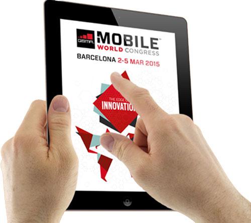 Presentación de apps en el MWC 2015