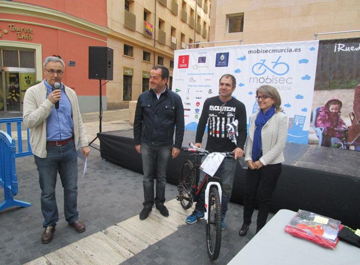 Entrega de los premios MOBISEC en Murcia.