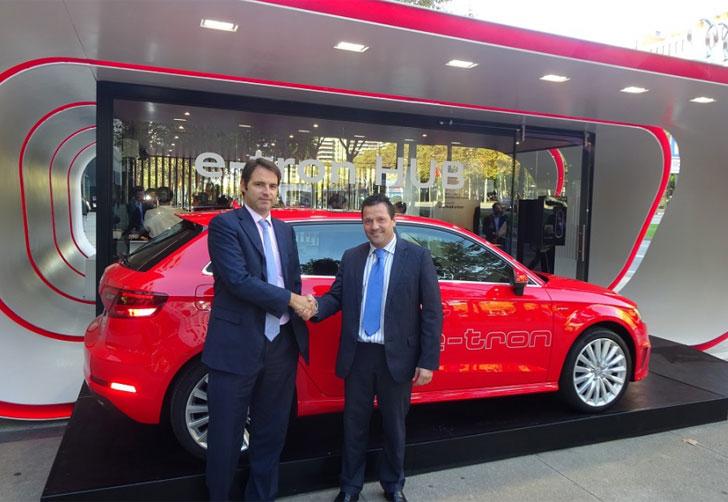 Acuerdo entre Audi e IBIL para impulsar el vehículo híbrido