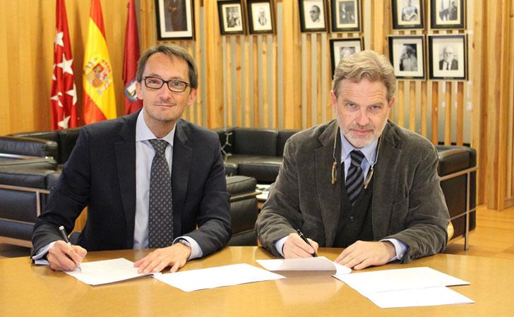 Acuerdo entre Lafarge y el COAM para desarrollar un mortero descontaminante