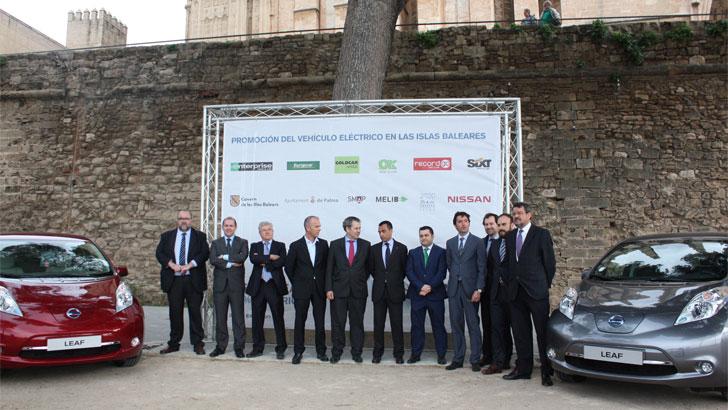Presentación vehículos eléctricos en Palma de Mallorca