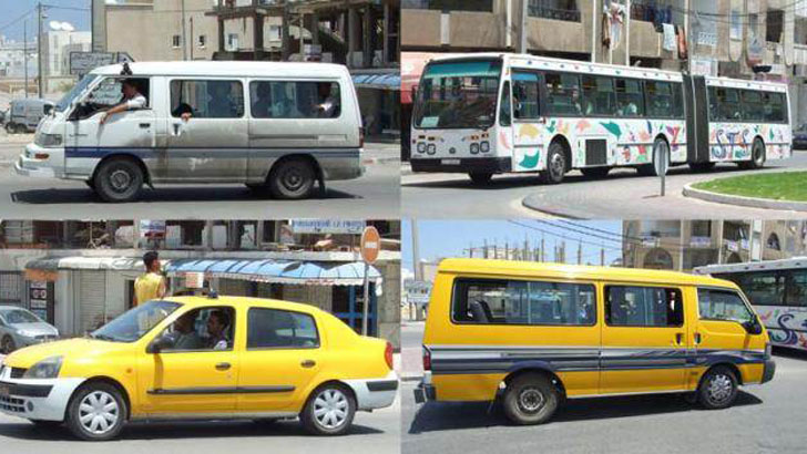 Transporte semi-colectivo en Líbano